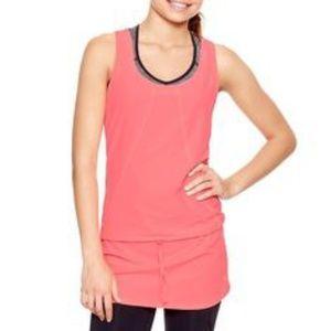 GapFit Run Tunic Top in Neon Pink